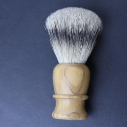 Thiers Issard Super Badger Olive Wood Shave Brush Thiers-Issard - 3