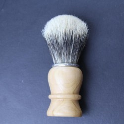 Thiers Issard Super Badger Pear Wood Horn Shave Brush Thiers-Issard - 1