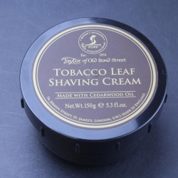 Taylor of Old Bond Street Tobacco Leaf Shaving Cream