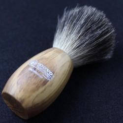 Dovo Olivewood Pure Badger Brush