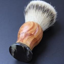Invisible Edge Rainbow Ply Custom Shave Brush