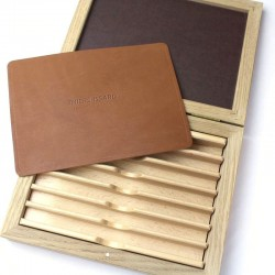 Thiers Issard Deluxe Oak Box (Solid Top)
