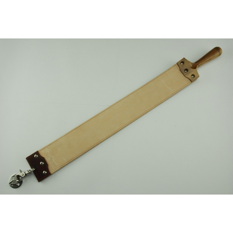 Brown Oak Flax Backed Superleather(TM) Custom Hanging Strop